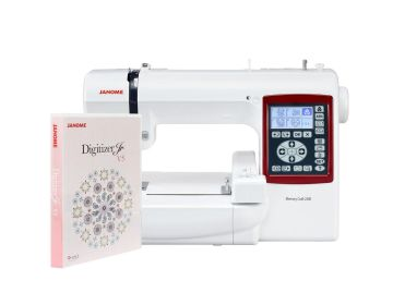 Hafciarka Janome MC230E + program hafciarski Janome Digitizer Jr