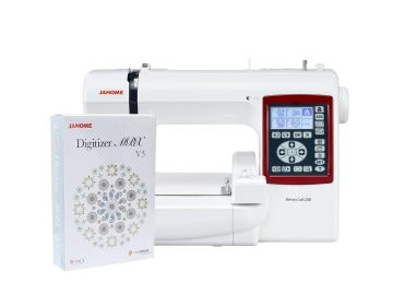 Hafciarka Janome MC230E + program hafciarski Janome Digitizer MBX